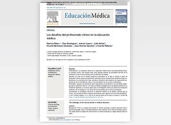 Los desafíos del profesorado clínico en la educación médica